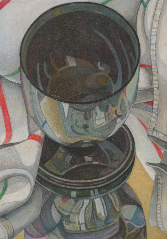 Aaron Kasmin, The Silver Lustre Goblet, 2012