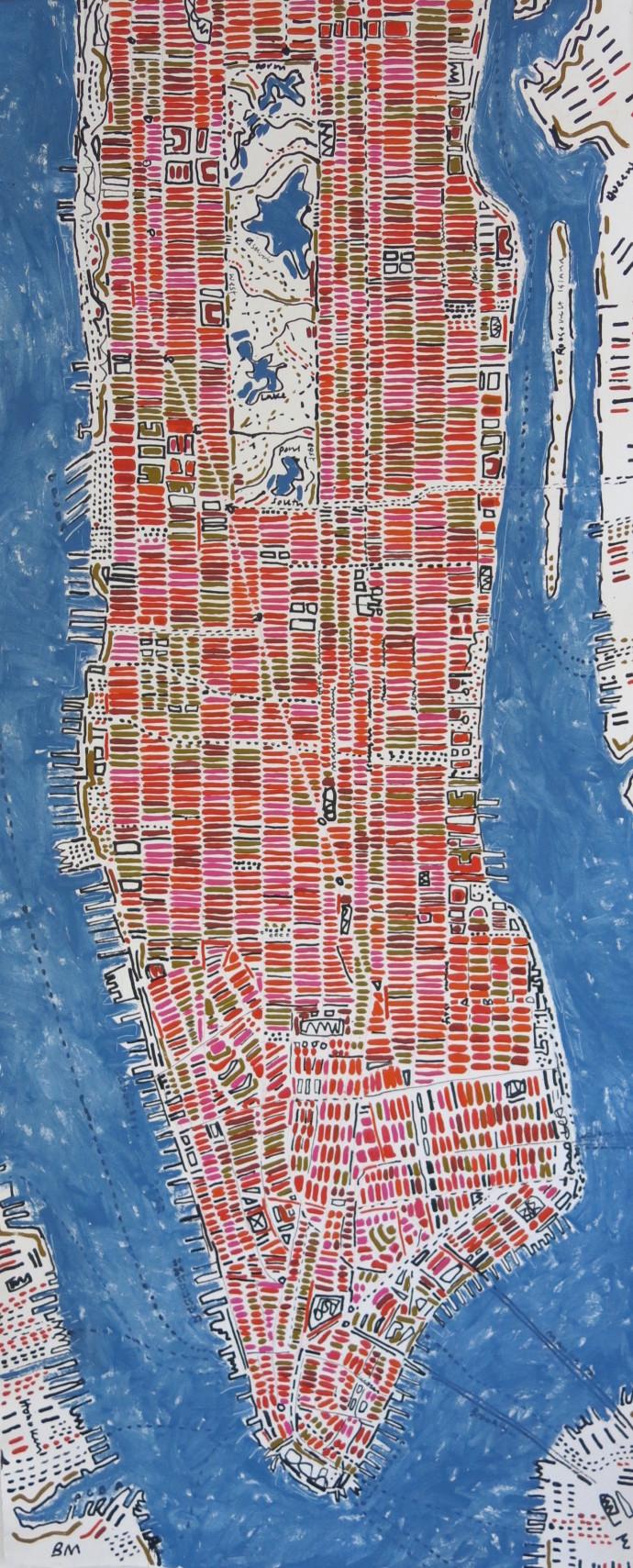 Barbara Macfarlane, Long Manhattan, 2017