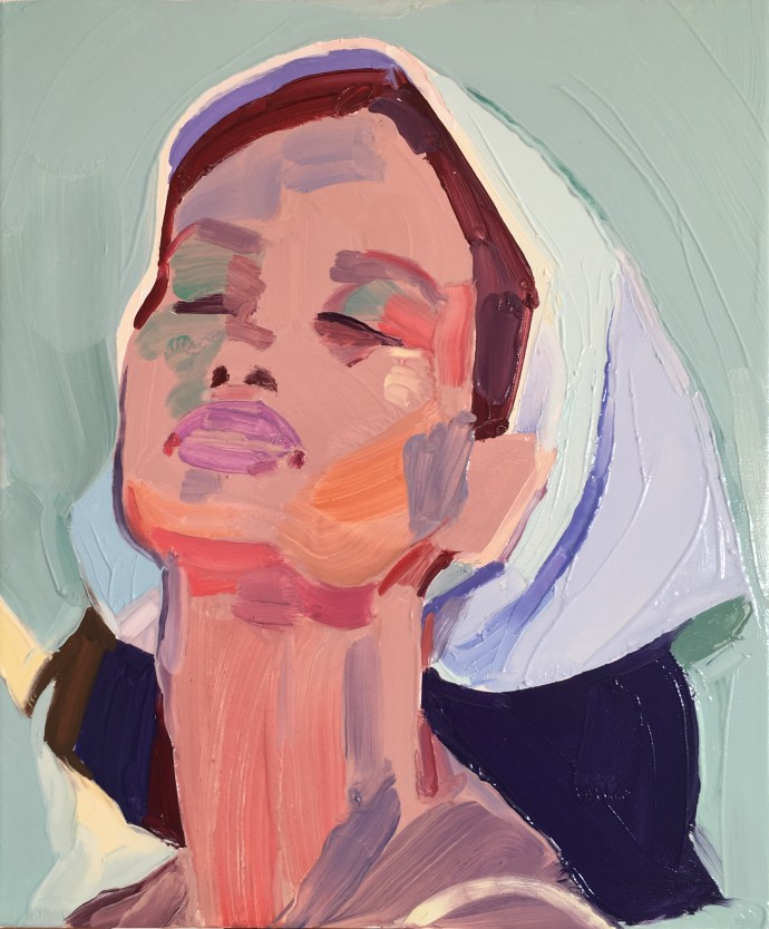 Barbara Hoogeweegen, Wet on Wet, 2018