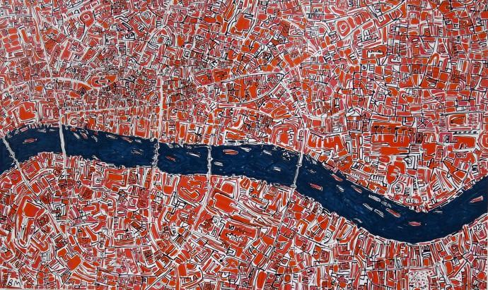 Barbara Macfarlane, Red London, 2017