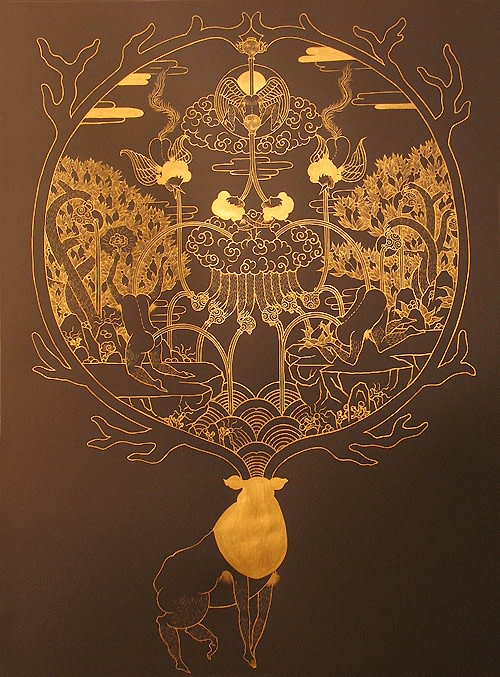 Song-Nyeo Lyoo, Deer III, 2012