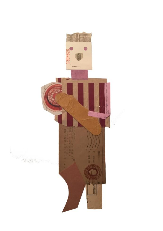 <div class=&#34;artist&#34;><strong>Jerry Jeanmard</strong></div><div class=&#34;title&#34;><em>Man In Striped Shirt With Baguette</em>, 2016</div><div class=&#34;medium&#34;>collage</div><div class=&#34;dimensions&#34;>66 x 48 cm<br />26 x 18 7/8 in</div>