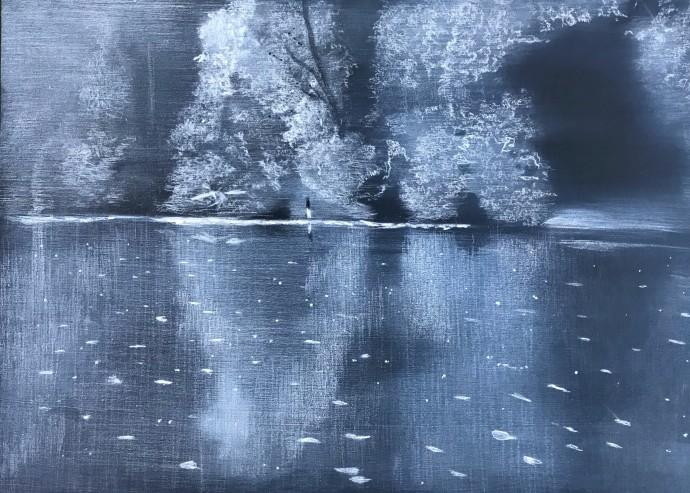 Sheila Clarkson, Disappearing Landscape, 2018