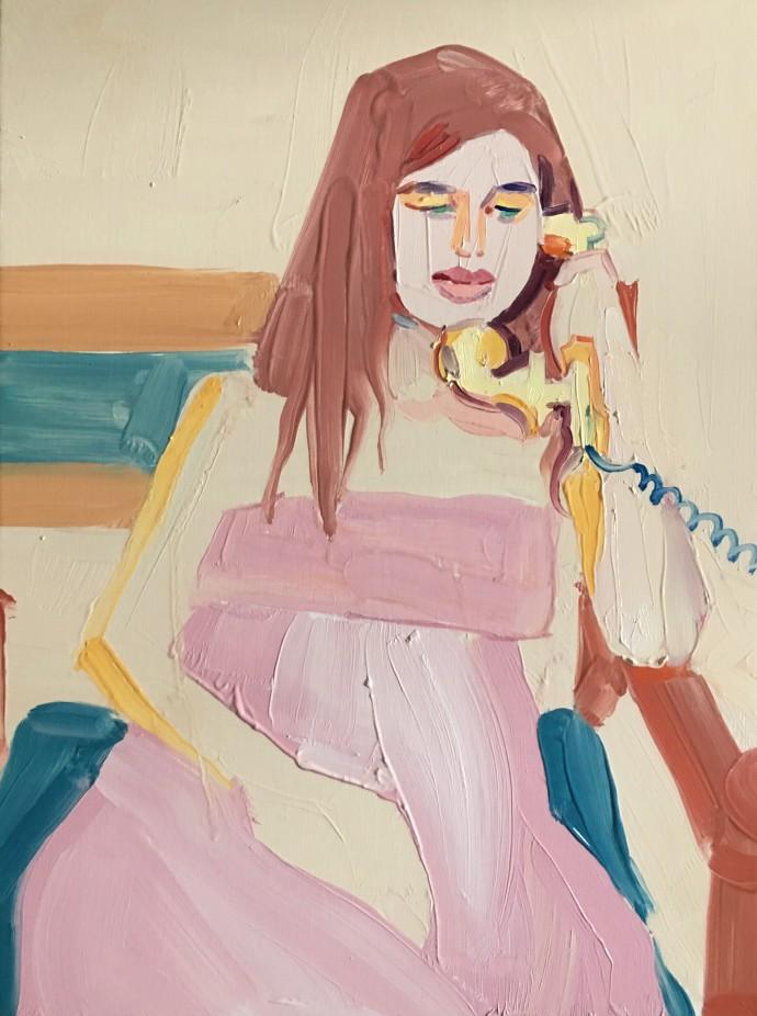 Barbara Hoogeweegen, That Phone Call, 2017