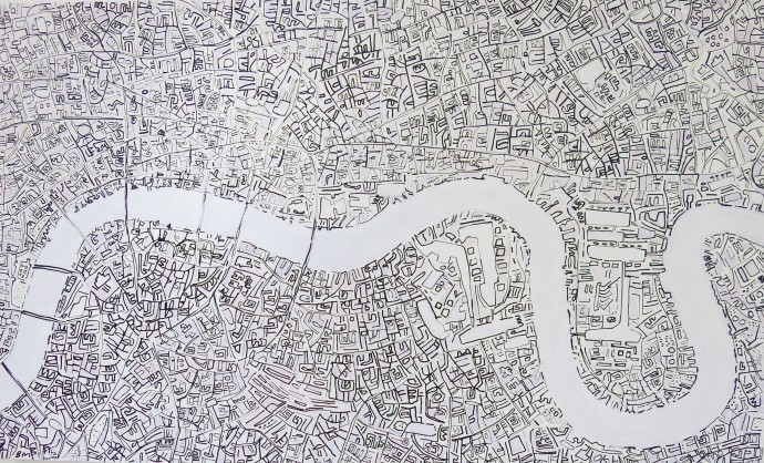 Barbara Macfarlane, White London, 2017