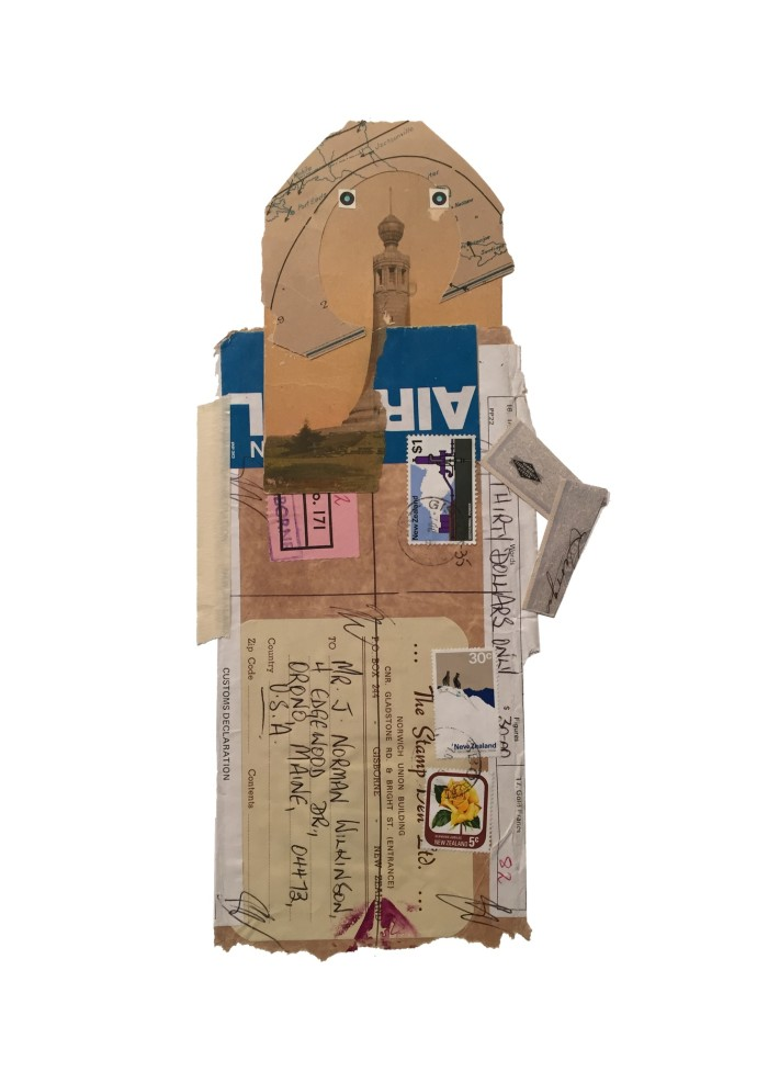 <div class=&#34;artist&#34;><strong>Jerry Jeanmard</strong></div><div class=&#34;title&#34;><em>Traveler</em>, 2016</div><div class=&#34;medium&#34;>collage</div><div class=&#34;dimensions&#34;>66 x 48 cm<br />22 1/8 x 15 in</div>