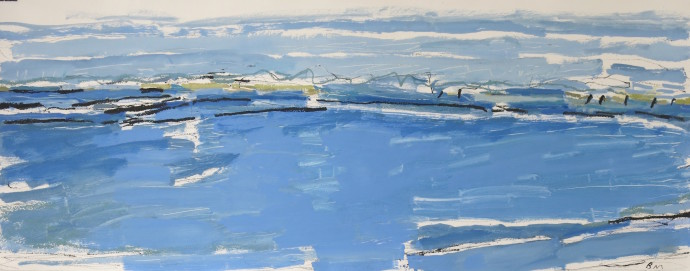 Barbara Macfarlane, Blue Summer, East Head