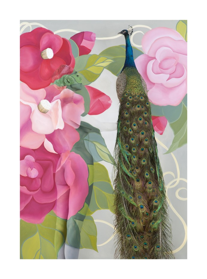 Emma Hack, Camelia and Peacock
