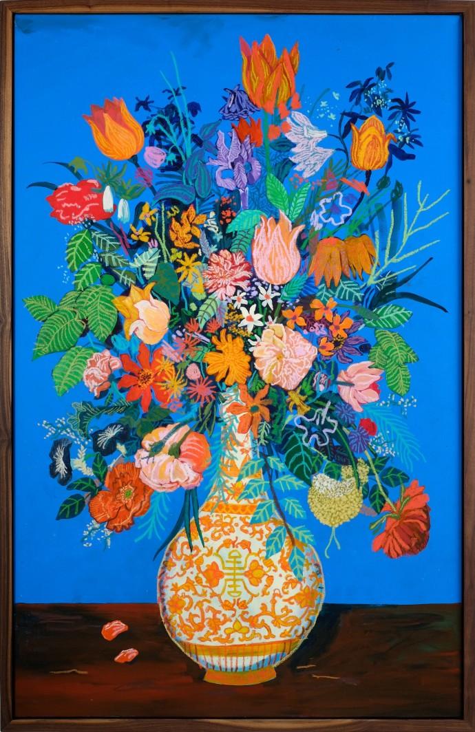 Andy Dixon, Blue Bouquet, 2014