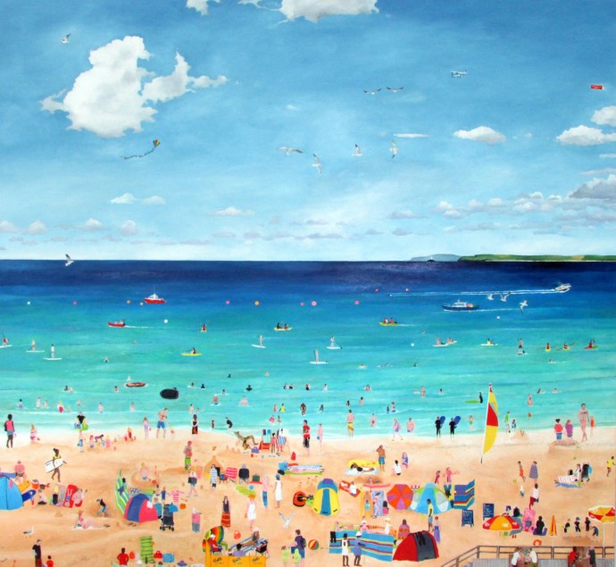 Emma Haworth, Seaside I, 2014