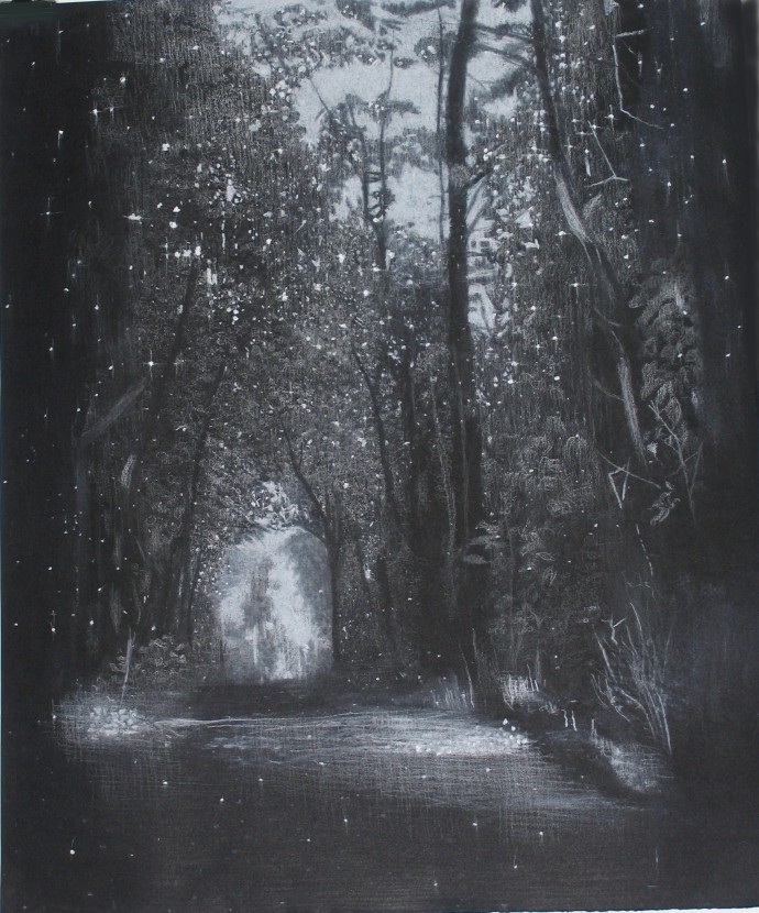 Sheila Clarkson, Light in the Trees, 2014