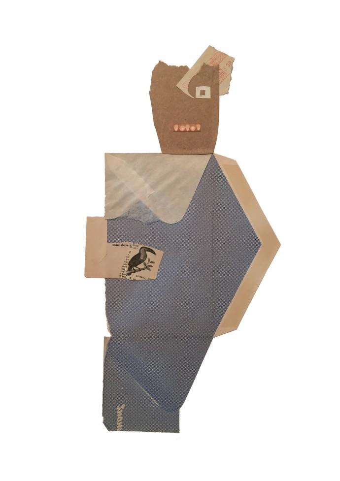 <div class=&#34;artist&#34;><strong>Jerry Jeanmard</strong></div><div class=&#34;title&#34;><em>Bird In The Hand</em>, 2016</div><div class=&#34;medium&#34;>collage</div><div class=&#34;dimensions&#34;>66 x 48 cm<br />26 x 18 7/8 in</div>