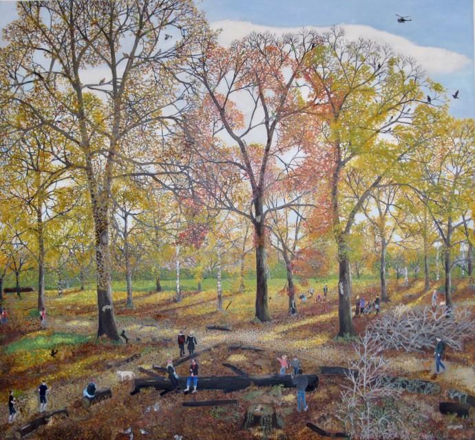 Emma Haworth, Autumn Woods, 2020