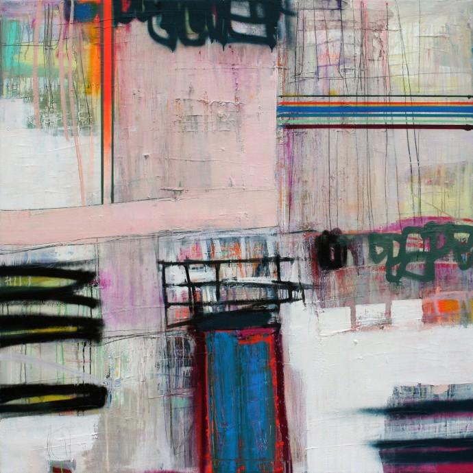 <div class=&#34;artist&#34;><strong>Morten Lassen</strong></div><div class=&#34;title&#34;><em>Interference C</em>, 2016</div><div class=&#34;medium&#34;>oil and spray on linen</div><div class=&#34;dimensions&#34;>120 x 120 cm<br>47 1/4 x 47 1/4 in</div>