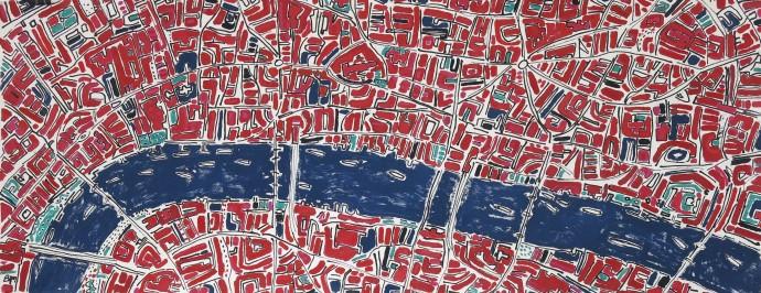 Barbara Macfarlane, London Cadmium Red and Emerald, 2017