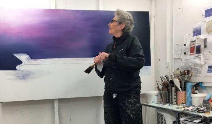 Anne Penman Sweet, Anne in the studio