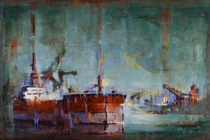 <div class=&#34;artist&#34;><strong>Tilemachos Kyriazatis</strong></div><div class=&#34;title&#34;><em>Hermes</em>, 2017</div><div class=&#34;medium&#34;>oil on canvas</div><div class=&#34;dimensions&#34;>120 x 180 cm<br />47 1/4 x 78 3/4 in</div>