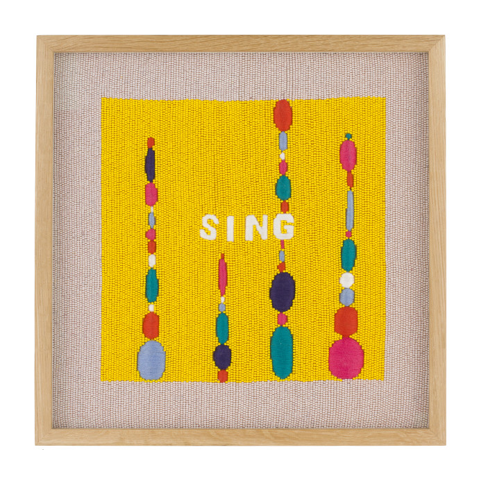 Rose Blake, Sing (A Thousand Things Better Than Words), 2018