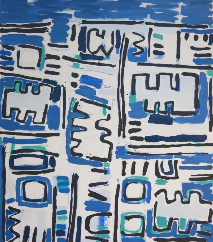 Barbara MacFarlane, Urban Geometry 02, 2017