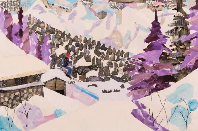 Dione Verulam, A Mountain Hamlet, 2015