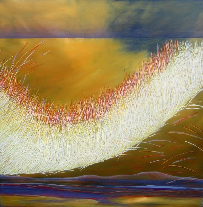 Yvonne Mills-Stanley, Grass Memories V, 2014