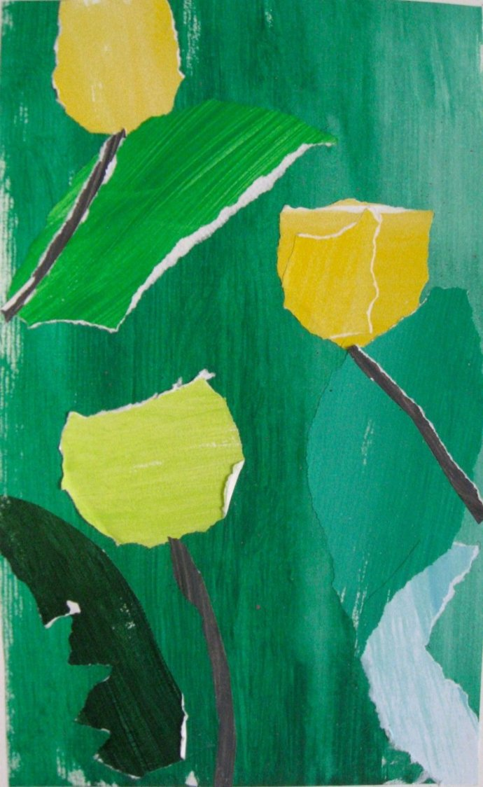 James Farrelly, Three Yellow Tulips