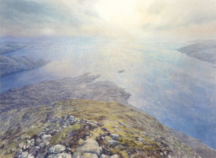 David Forster, The clouds will lay hold of him and bear him away (Harris), 2011