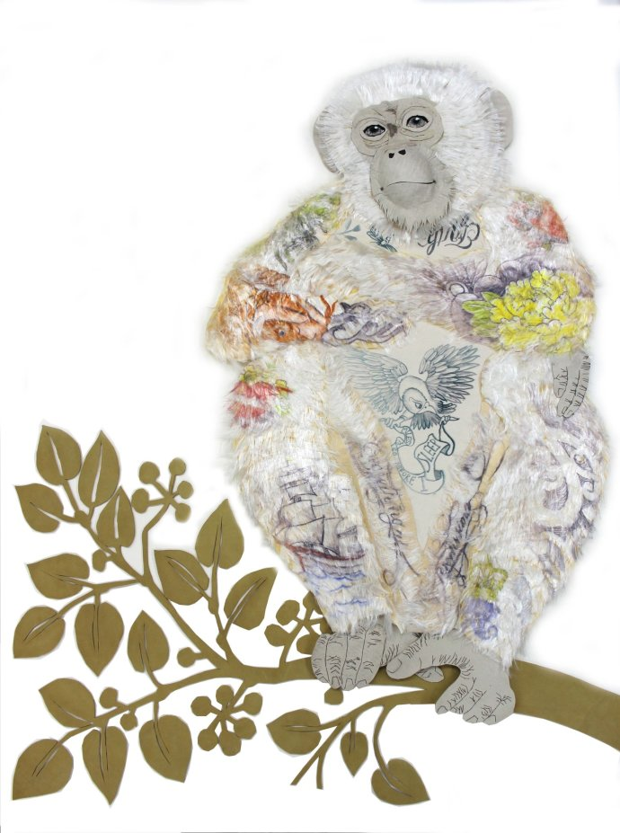 Karen Nicol, Cheeky Monkey, 2013