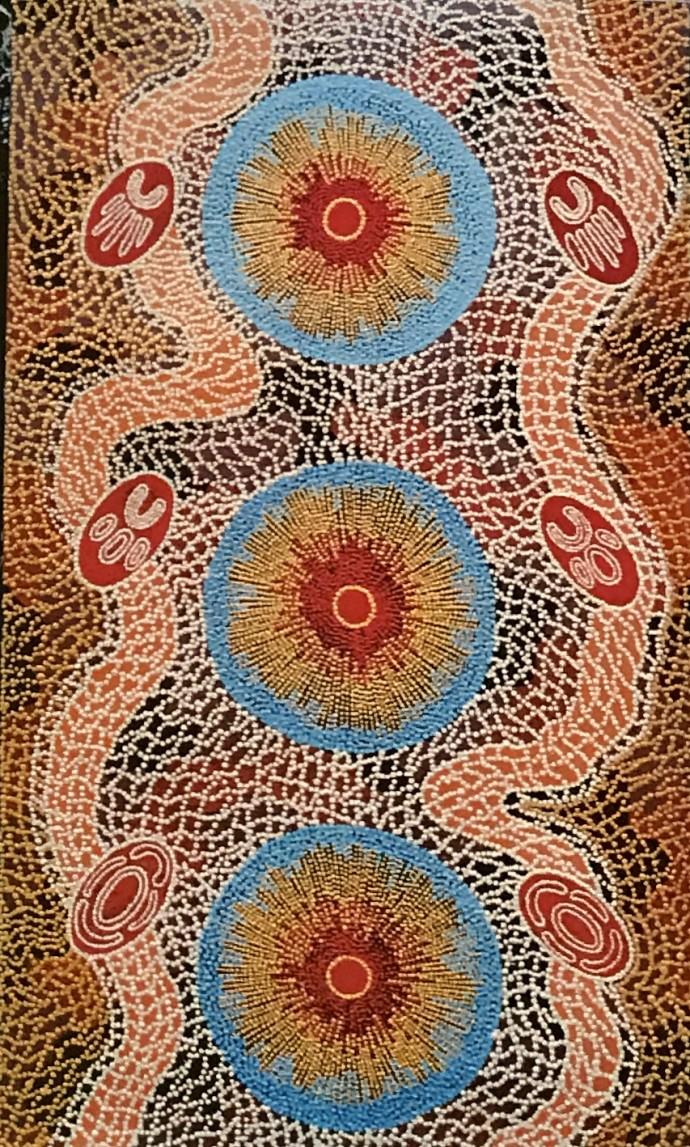 Malcolm Jagamarra, Warlu (Fire), 2001