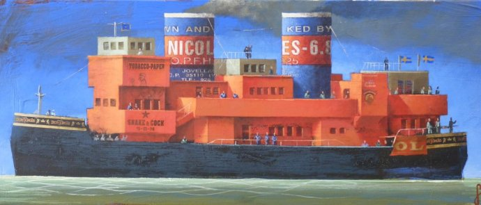 "Sylvain Lefebvre, The ""Red Nicole"", 2013"