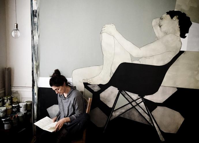 Nikoleta Sekulovic, Artist's Studio