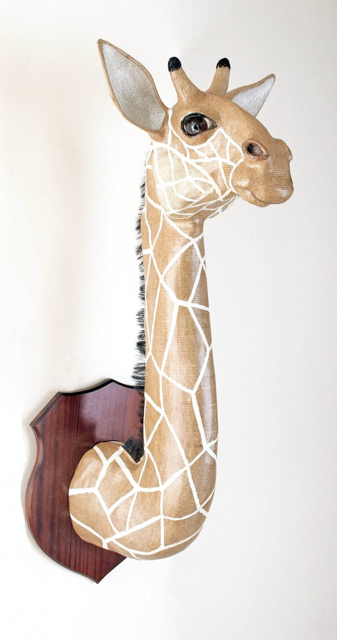 David Farrer, Reticulated Giraffe, 2013