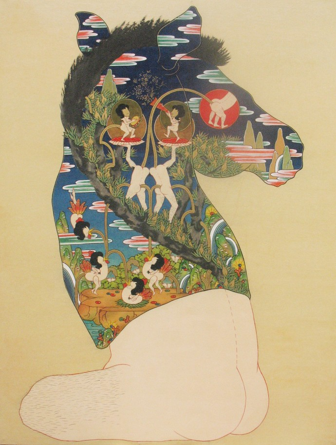 Song-Nyeo Lyoo, Horse II, 2011