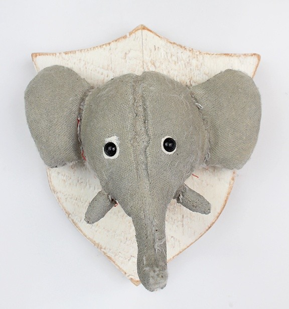 <div class=&#34;artist&#34;><strong>Ross Bonfanti</strong></div><div class=&#34;title&#34;><em>Elephant Head</em>, 2016</div><div class=&#34;medium&#34;><span>concrete, toy parts, wood, steel</span><br /><span>22.9 x 22.9 x 17.8 cm</span><br /><span>9 x 9 x 7 in</span></div>