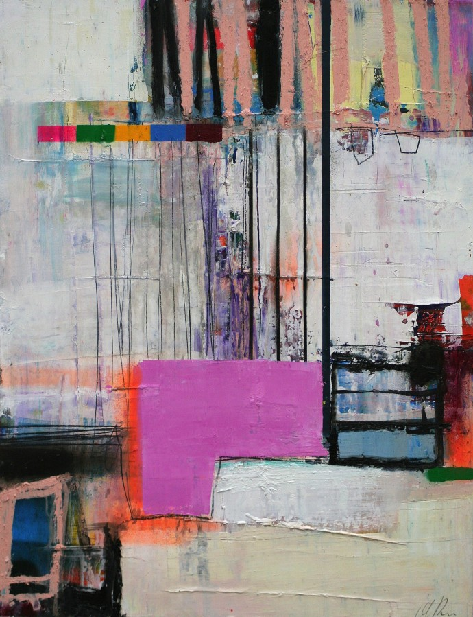 <span class=&#34;title_and_year&#34;><em>Untitled 14</em>, 2015<span class=&#34;title_and_year_comma&#34;>, </span></span><span class=&#34;medium&#34;>oil and spray paint on paper<span class=&#34;medium_comma&#34;>, </span></span><span class=&#34;dimensions&#34;>65 x 50 cm<br/>25 5/8 x 19 3/4 in</span>