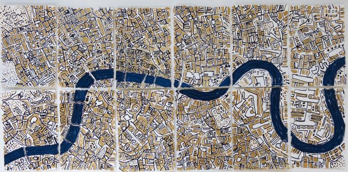 Barbara Macfarlane, Gold London , 2017