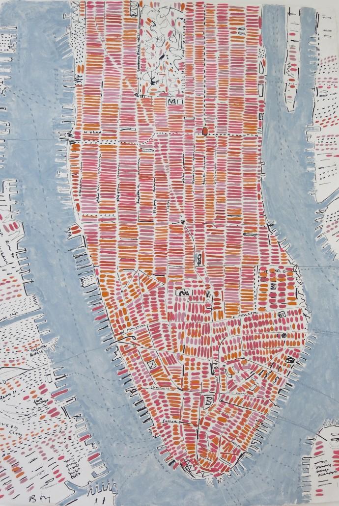 Barbara Macfarlane, Rose Manhattan, 2015