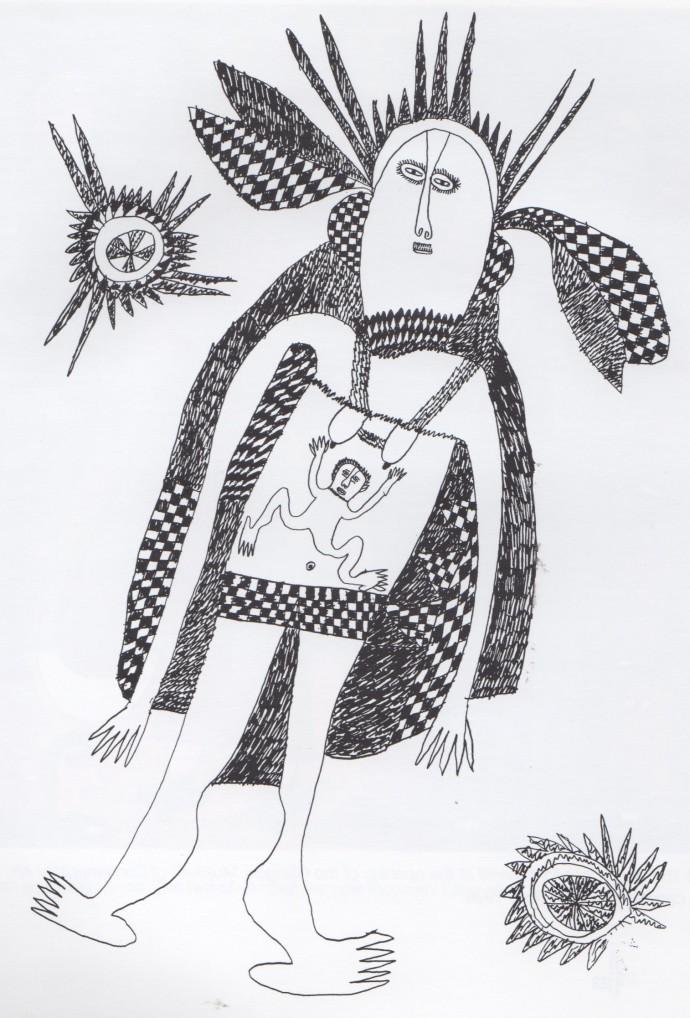 Mathias Kauage, Great Mother 2, '70