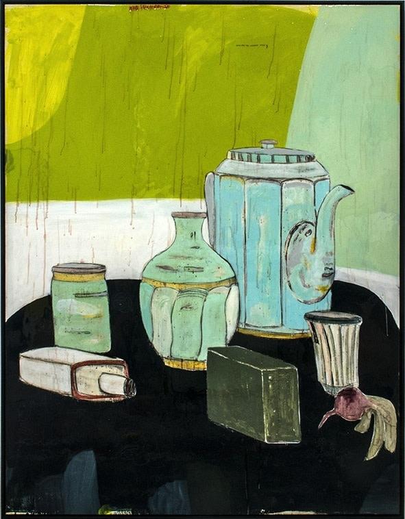 Rob Tucker, Salad and Tea Supreme Style, 2013