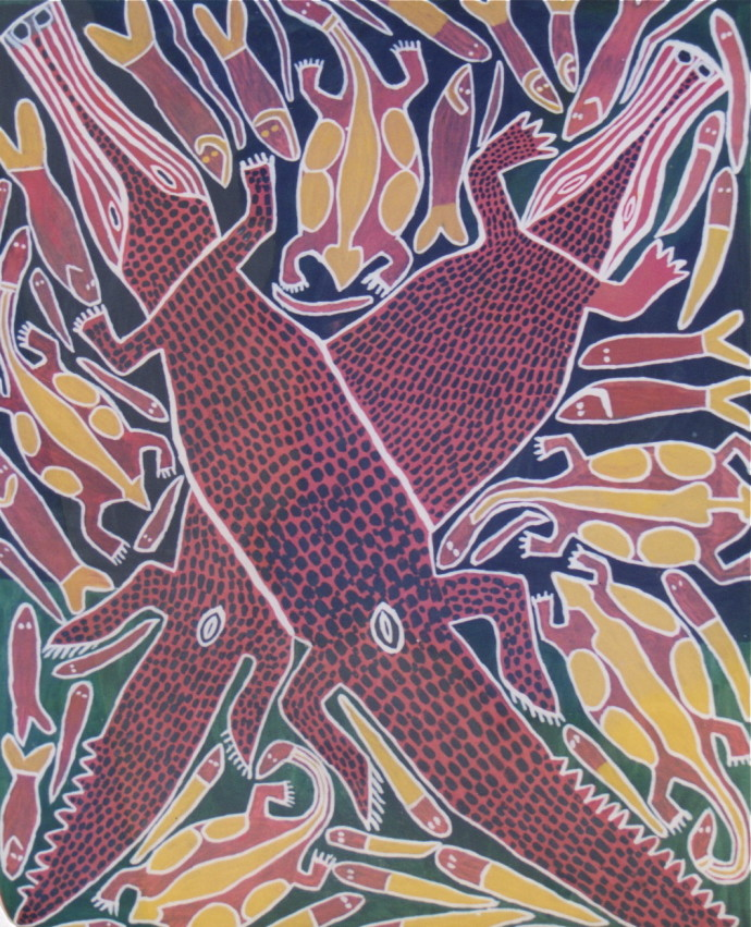 Sambo Barra Barra, Two Crocodiles , 1995/96