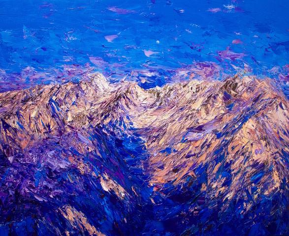 Holly Zandbergen, Sunrise Over Le Perouse Valley, 2019