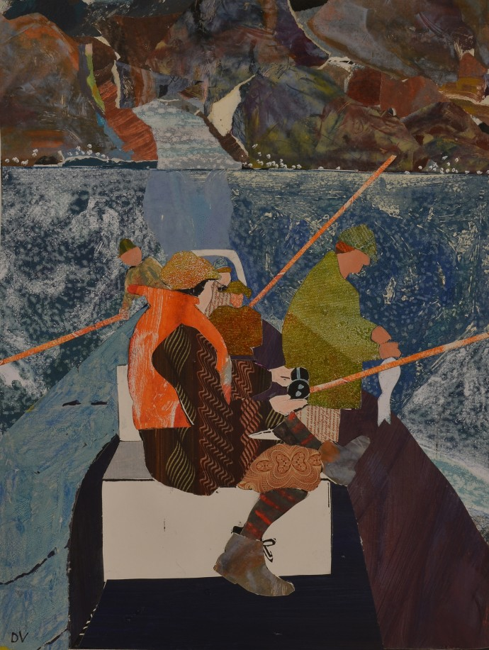<div class=&#34;artist&#34;><strong>Dione Verulam</strong></div><div class=&#34;title&#34;><em>Fishing on the Pentland Firth</em>, 2014</div><div class=&#34;medium&#34;>collage</div><div class=&#34;dimensions&#34;>41 x 31 cm<br>16  x 12 in</div>