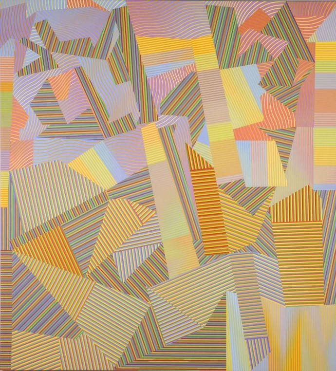 <div class=&#34;artist&#34;><strong>David Whitaker</strong></div><div class=&#34;title&#34;><em>Force of Nature II</em>, 2003</div><div class=&#34;medium&#34;>oil on canvas</div><div class=&#34;dimensions&#34;>215 x 196 cm<br>84 5/8 x 77 1/8 in</div>