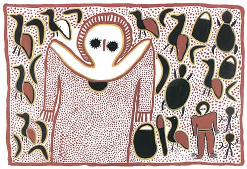 Lily Karedada, Wandjina
