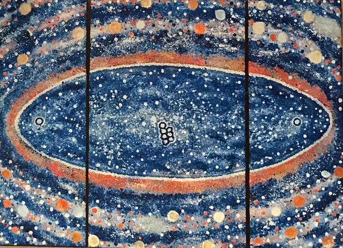 Malcolm Jagamarra, Milky Way (sky story), 2001