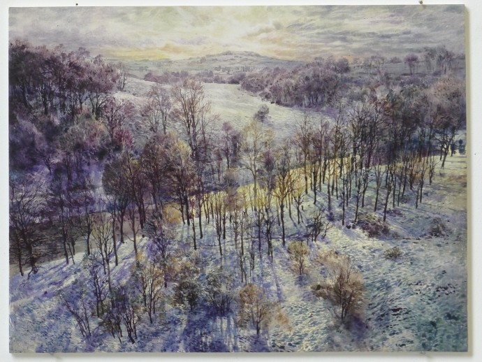 David Forster, And hill and vale lay covered in snow (Linlithgow), 2014