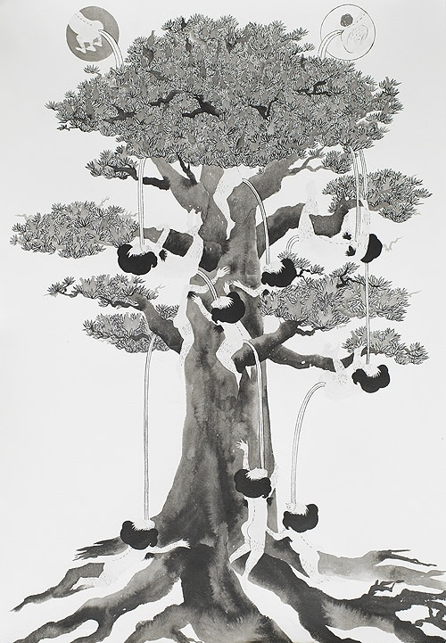 Song-Nyeo Lyoo, Tree I, 2011
