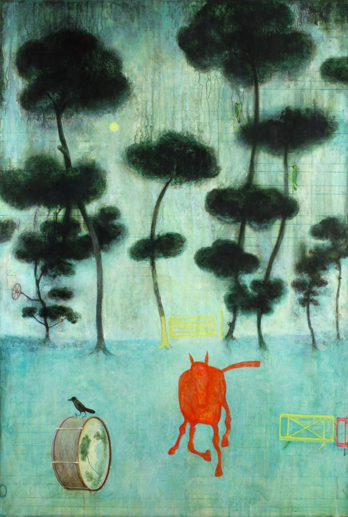 <div class=&#34;artist&#34;><strong>Alasdair Wallace</strong></div><div class=&#34;title&#34;><em>Red Horse</em>, 2016</div><div class=&#34;medium&#34;>acrylic on paper</div><div class=&#34;dimensions&#34;>125 x 95 cm<br>49 1/4 x 37 3/8 in</div>