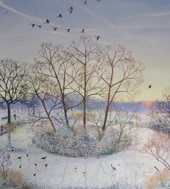 Emma Haworth, The deepest roots are not reached by the Frost, 2020