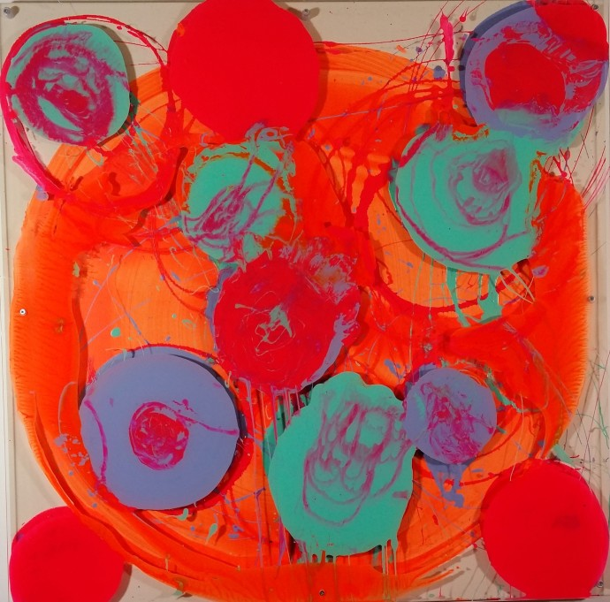 <div class=&#34;artist&#34;><strong>Petra McCarthy</strong></div><div class=&#34;title&#34;><em>You Run Rings Around Me</em>, 2015</div><div class=&#34;medium&#34;>acrylic on canvas with perspex</div><div class=&#34;dimensions&#34;>100 x 100 cm<br>39 3/8 x 39 3/8 in</div>